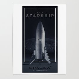 SpaceX / The Starship Poster