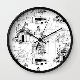 West Philadelphia Wall Clock