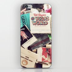 Vintage Matchbook Collection iPhone Skin
