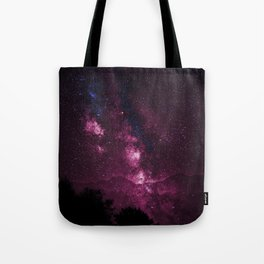 Pink Galaxy Sky Delight Tote Bag