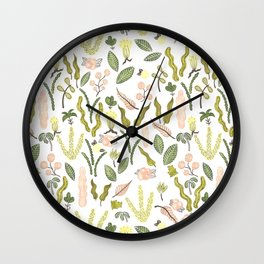 deep in the jungle Wall Clock