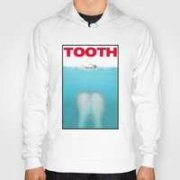 tooth Hoodies featuring tooth by tama-durden