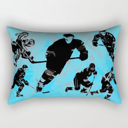 Game on! - Hockey Night Rectangular Pillow