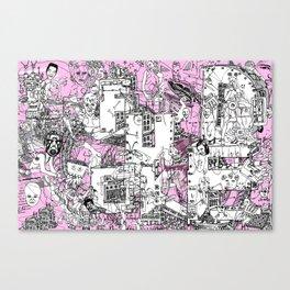Hello Characters - REMIX Canvas Print