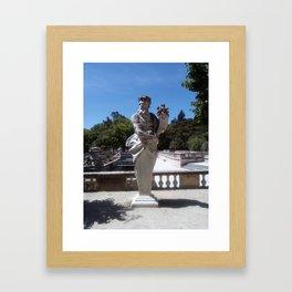 Jardins de la Fontaine, Nemoz. Framed Art Print