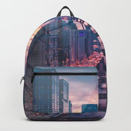 Hair in the city Backpack