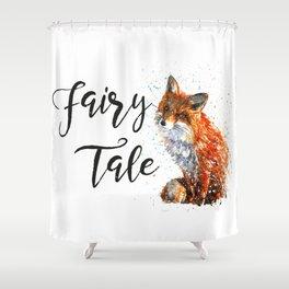 Fox Fairy Tale Shower Curtain