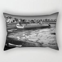 Muddy Feet in the Basin Rectangular Pillow