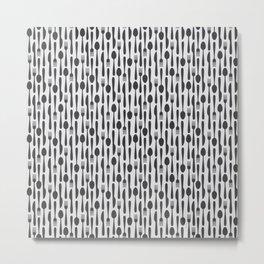 Kithen Cutlery Metal Print
