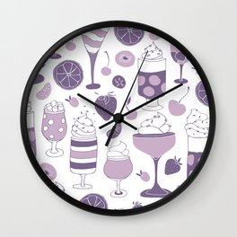 Jell-o Desserts Wall Clock
