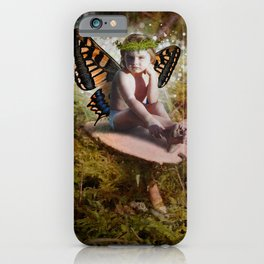 Mossy Mushroom Fairy iPhone Case