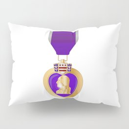 Purple Heart Medal Pillow Sham