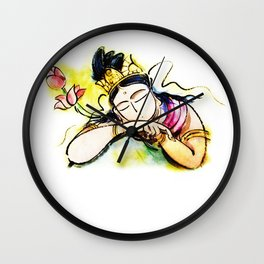 Hearts of Kannon Wall Clock