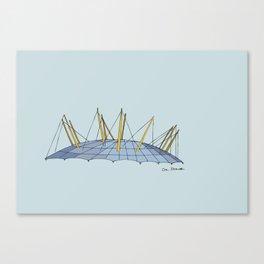 O2 Dome Canvas Print