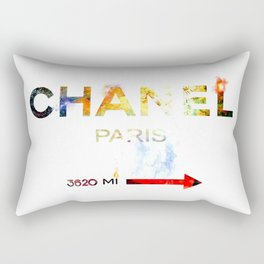 French Fashion Rectangular Pillow