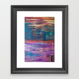 The Colorman. Framed Art Print
