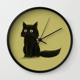 Sitting Cat Wall Clock