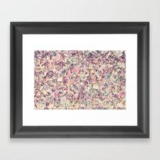 Love Locked Framed Art Print