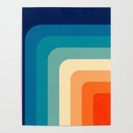80s Vintage pattern Poster