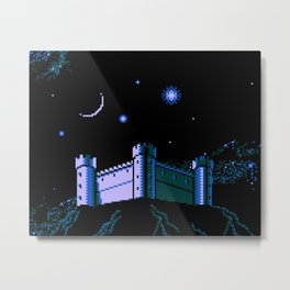 The  Castle  of  Chimeras Metal Print