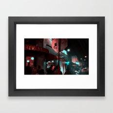 Los Feliz Framed Art Print