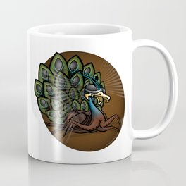 Mutant Zoo - Peacockroach Coffee Mug