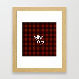 Gettin' Cozy Framed Art Print