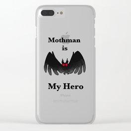 Mothman is my Hero Clear iPhone Case