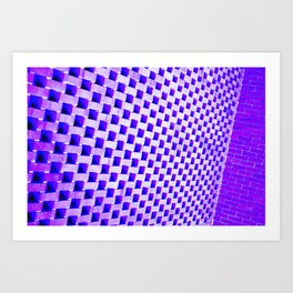 Eye Play in Purple Art Print