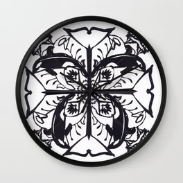 Tale of a Whaleflake Wall Clock