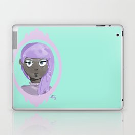 Pastel Vampire Woman Laptop & iPad Skin