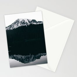 Mount Rainier Reflections Stationery Cards