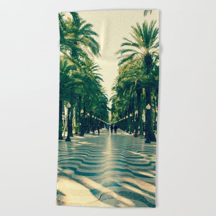 Walk Me Away Beach Towel