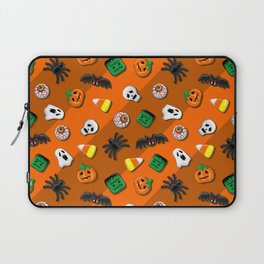 Halloween Spooky Candies Party Laptop Sleeve