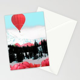 Snowy Glow Stationery Cards
