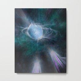 Futuristic Visions 07 Metal Print