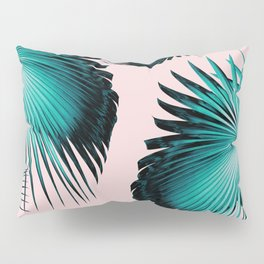 Fan Palm Leaves Paradise #4 #tropical #decor #art #society6 Pillow Sham