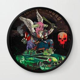 Death Rattle Wall Clock