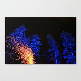 Nightlife Canvas Print