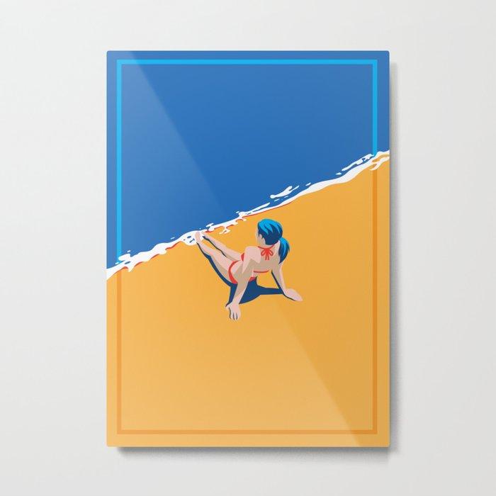 Beach 45 Metal Print