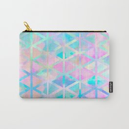 Pink pastel aztec pattern Carry-All Pouch