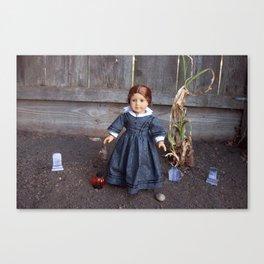 She Who Walks Canvas Print