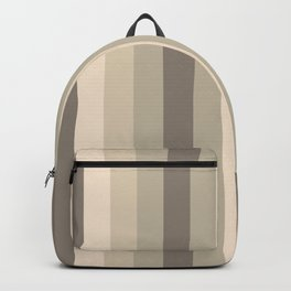 P014 Neutral Navy Lines Backpack