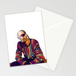 Smoking weed evry day Stationery Cards