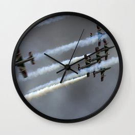Frecce Tricolori Wall Clock
