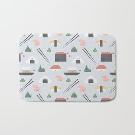 Happy Sushi Bath Mat