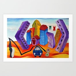 Don't Forget the Wash Art Print