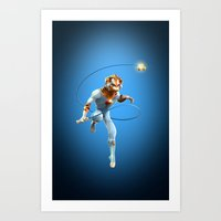 thundercats Art Prints featuring Thundercats iphone case by Dante RD