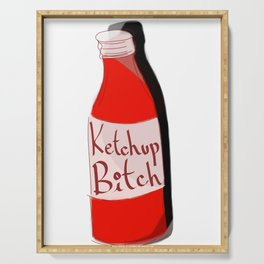Ketchup Bitch Serving Tray