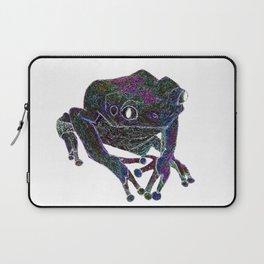 Psychedelic Giant Monkey Frog Laptop Sleeve